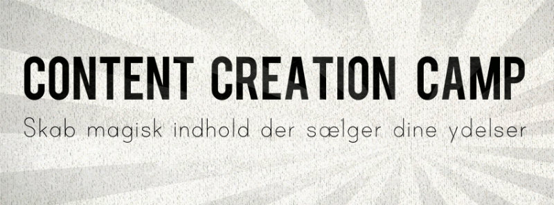 Content Creation Camp med Rikke Moos